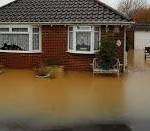 Flood Damage Properties in Rhyl