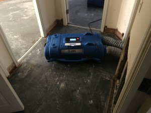 Water damage restoration in Newburgh